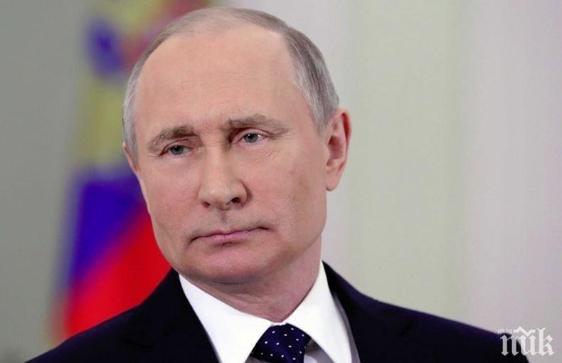 Путин подписа специален указ за руско гражданство на жителите на Донбас