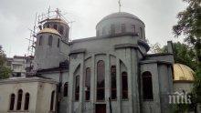 """Новият храм на Варна """"Св. Прокопий Варненски"""" ще е готов догодина"""