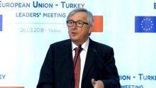 Юнкер: Не само ЕС, но и целият свят се намира криза