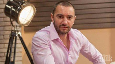 НА БЪРЗИ ОБОРОТИ: Антон Хекимян на бербер за 5 минути - суетният водещ се кипри като кокона