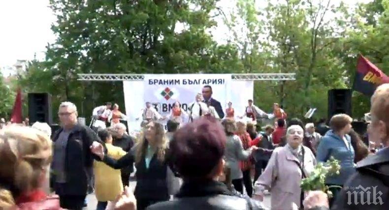 ИЗВЪНРЕДНО В ПИК TV: ВМРО дават официален старт на кампанията си за евроизборите на Възкресение Христово (ОБНОВЕНО)