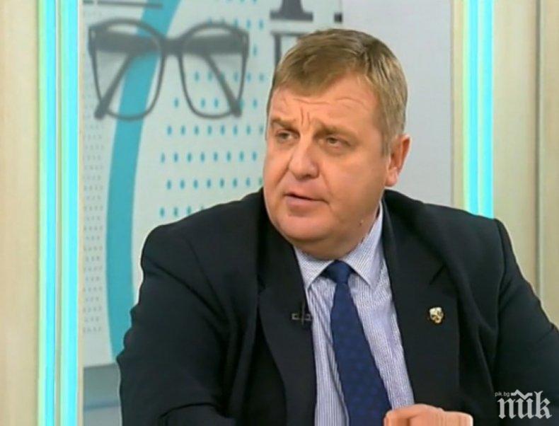 Каракачанов, това с казармата няма да стане