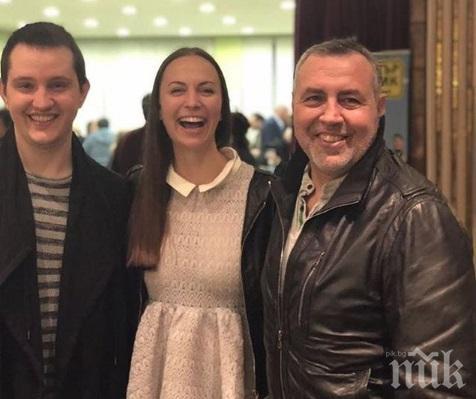 НА ГРЕБЕНА НА ЛЮБОВТА: Синът на Христо Мутафчиев запозна гаджето с баща си - ето реакцията на актьора