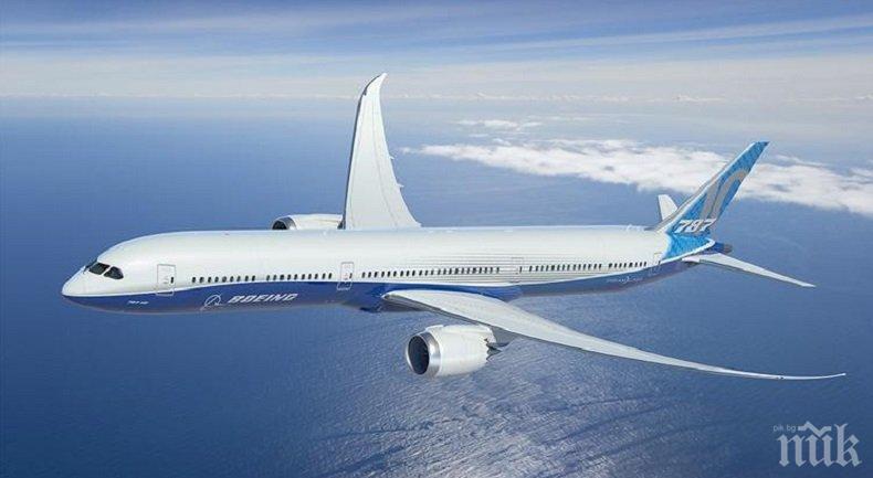 НАПРЕЖЕНИЕ ВЪВ ВЪЗДУХА: Задържаха Боинг на гръцка авиокомпания, навлязъл без разрешение в Молдова