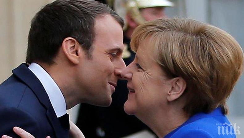Меркел и Макрон - домакини на Среща на върха за Западните Балкани