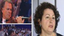 Цигуларката Кремена Минева за работата си с Андре Рийо и за предстоящите концерти в България