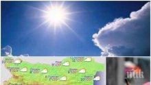 ПРОЛЕТНА СРЯДА: Новият месец започва със слънце, но следобед идват дъждове и гръмотевици
