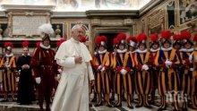 ПЪРВО В ПИК TV: Папата с обръщение към българите преди посещението си в неделя