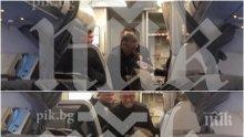 ПЪРВО В ПИК: Ветко Арабаджиев кацна в София - конвой на съдебна охрана го прибира в ареста (ЕКСКЛУЗИВНИ СНИМКИ)