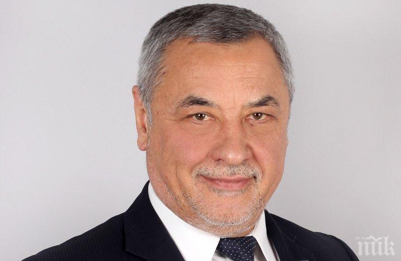 Представители на малкия и среден бизнес изразиха пълна подкрепа за Валери Симеонов