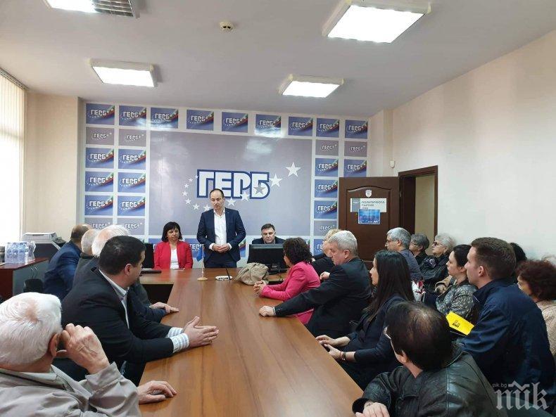 Андрей Ковачев в Плевен: Листата на ГЕРБ и СДС е най-добрата, хората няма да се подведат по агресивната кампания на БСП