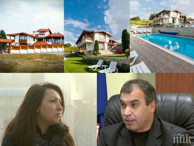 ЖЕСТОКА НАГЛОСТ: Луксозният хотел на кмета на Хаджидимово на метри от манастира, заграбили земята на светата обител