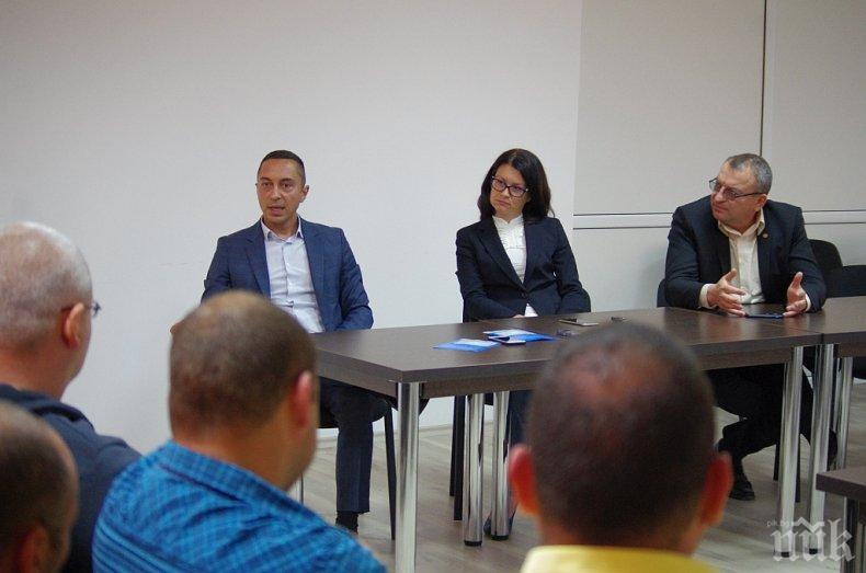 Кандидатът за евродепутат от ГЕРБ Йоана Йончева-Фильова се срещна с жители на община Гурково