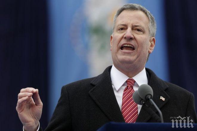 СКАНДАЛ: Кметът на Ню Йорк скочи на президента на Бразилия - бил расист и хомофоб
