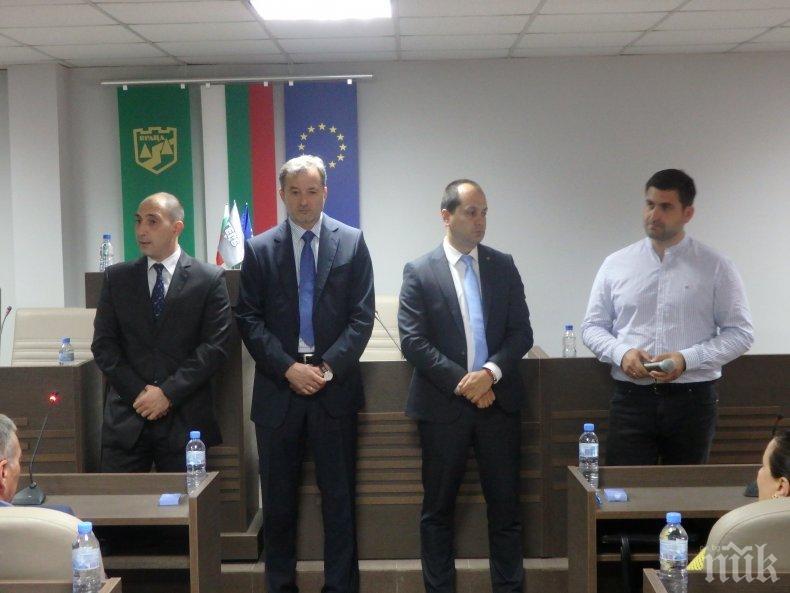 Андрей Новаков във Враца: Ако получа подкрепата на хората, ще поискам членство в транспортната комисия в ЕП