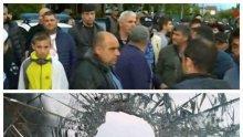 НАПРЕЖЕНИЕ: Засилено полицейско присъствие в Кърнаре след масовия бой