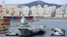 Китай строи тайно огромен самолетоносач