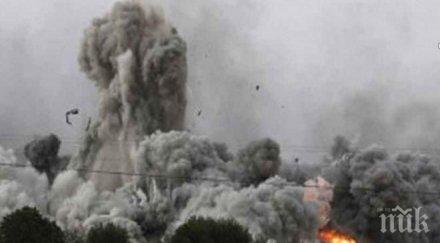 четирима души загинали израел обстрел ивицата газа