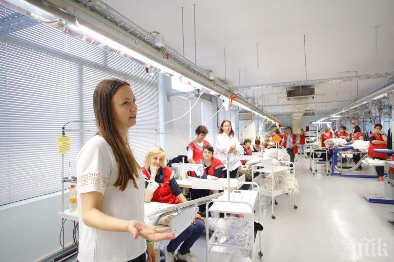 Ева Майдел в Русе: Всичко, което правим в ГЕРБ, е за развитието на икономиката и увеличаване на доходите