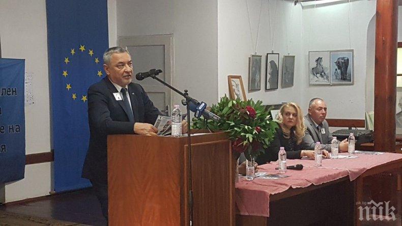 Валери Симеонов в Кюстендил: Показахме, че можем да защитим обикновения български гражданин