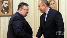 Президентът започва консултации за избора на следващ главен прокурор, среща се първо с Цацаров
