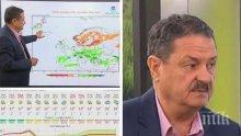 ПРИРОДНИ СТИХИИ: Климатологът проф. Георги Рачев със страшно предупреждение! Идват убийствени градушки - вижте кога и къде