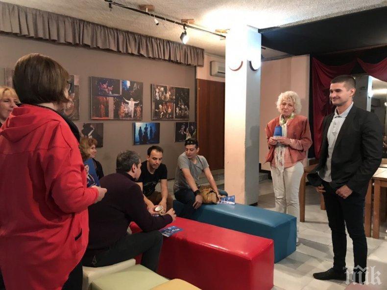 Кандидатът за евродепутат от ГЕРБ Николай Диков: Европа инвестира в културния живот на Стара Загора
