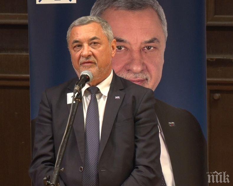 Валери Симеонов в Добрич: Ние сме хора на действието, не на приказките - точно такива трябва да има в Европейския парламент
