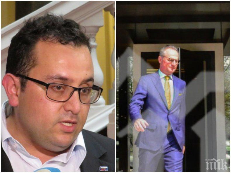 СКАНДАЛНА ТЕМА: Депутат от НФСБ обвини Лозан Панов в национално предателство: Да реши - шеф на ВКС или политик!