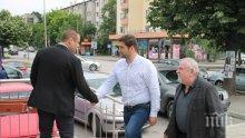 """Андрей Новаков в Харманли: За да отпаднат част от текстовете на пакет """"Мобилност"""", трябва да изпратим в ЕП компетентни хора"""