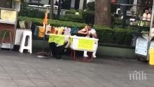 ЩЕ ПАДНЕТЕ ОТ СМЯХ: Куче-скейтбордист разсипа сергия в Мексико (ВИДЕО)