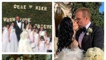 САМО В ПИК: Ето какво ще се случи с роклята за 50 бона, с която се омъжи Цеци Красимирова... (СНИМКИ)