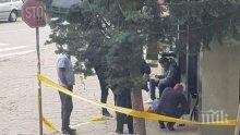 Полиция блокира пазара в Асеновград (СНИМКИ)