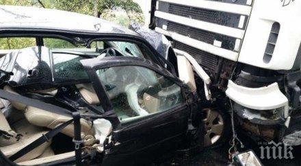 арестуваха пиян шофьор убил приятелката катастрофа