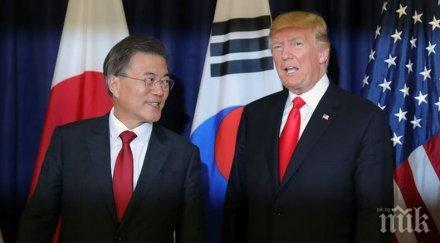 Доналд Тръмп отива в Южна Корея през юни