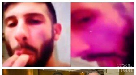 Изчезнал разследващ журналист? Да не е оня от видеото - дето си бърка отзад и си облизва пръста? После се снима с Прокопиев, а полицията го пази?