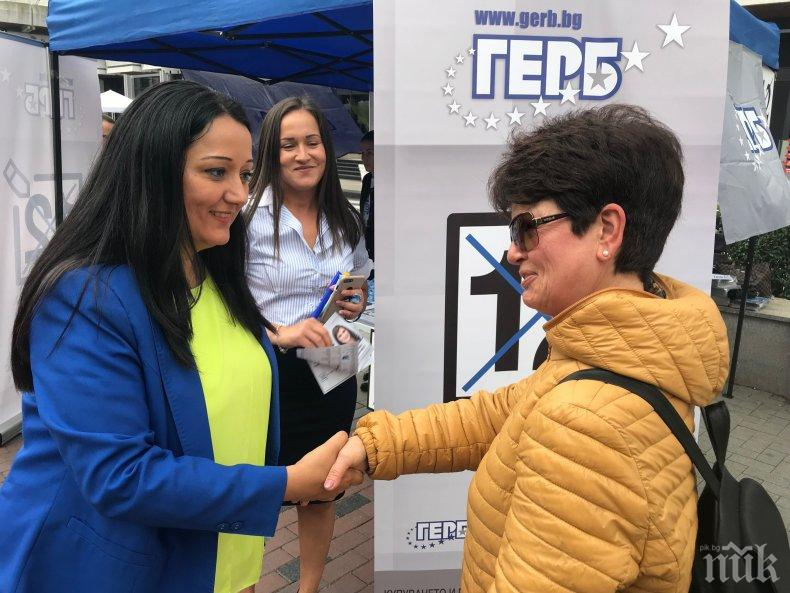Лиляна Павлова във Варна: Колкото по-голяма е групата на ГЕРБ/ЕНП, толкова по-силна ще бъде подкрепата за българските каузи в ЕП