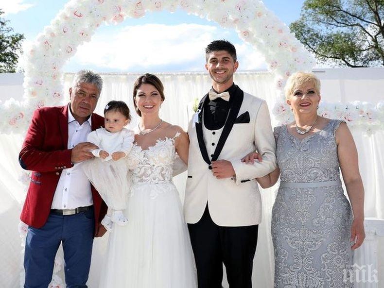 ГОРЧИВО: Николина Чакърдъкова вдигна тежка сватба - певицата на народа черпи 350 гости за... (СНИМКИ)