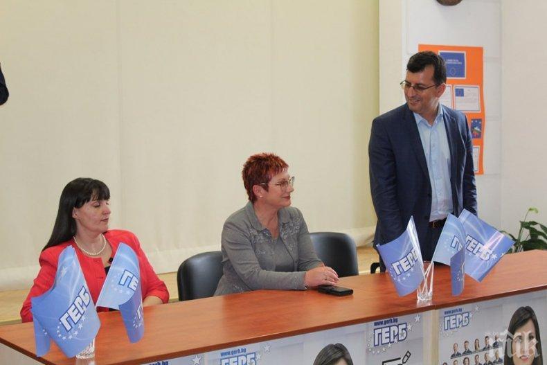 Асим Адемов в Тетевен: Доверието на ЕС към правителството на ГЕРБ гарантира фондовете, с които преобразяваме и Тетевен, и България