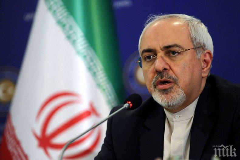 Външният министър на Иран: Ескалацията на напрежение от страна на САЩ е неприемлива