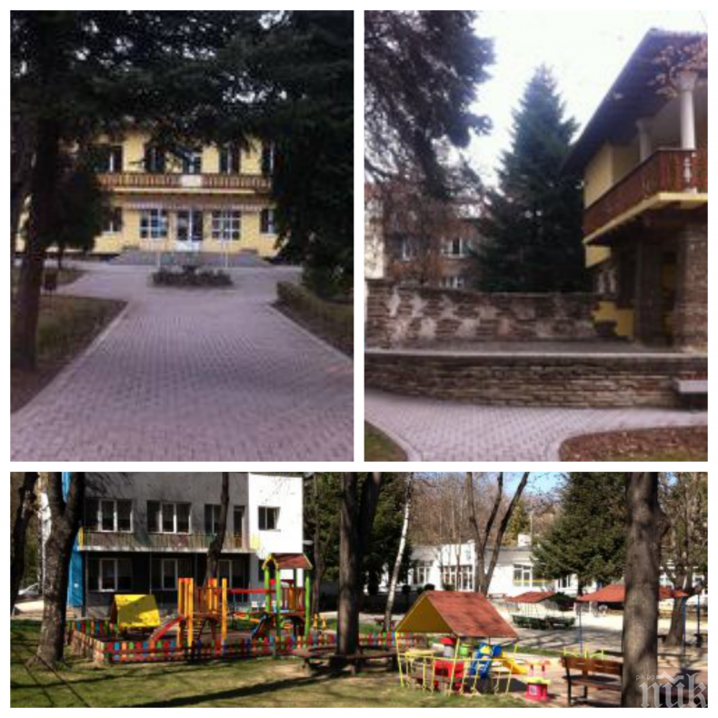 СИГНАЛ ДО ПИК: Строеж отхапа парче от детска градина в центъра на София! Опасният обект е на метри от катерушките с хлапета (СНИМКИ)