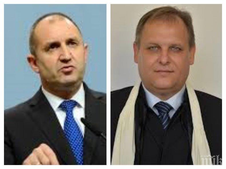 ИЗВЪНРЕДНО В ПИК TV: Шефът на ВАС Георги Чолаков пореден в срещите на Румен Радев за нов главен прокурор: По-добрият избор е на човек от системата (ОБНОВЕНА)