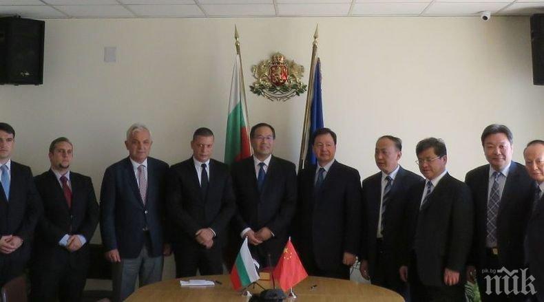 Китайска община поиска сътрудничество с общини от Софийска област