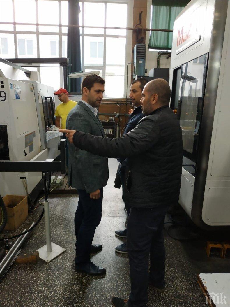 """Андрей Новаков: """"Произведено в България"""" е най-добрата социална политика"""