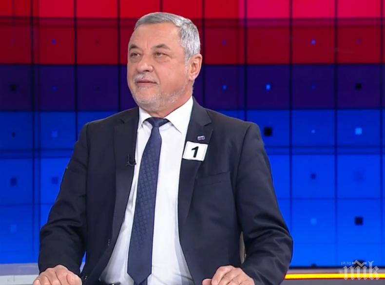 Валери Симеонов със сигнал до ЦИК за нарушение на Изборния кодекс от страна на ДПС