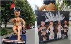 ВЗЕХА НА ПОДБИВ БСП: Нинова лъсна полугола в Габрово, Йончева и Добрев - в кабаретни костюми (СНИМКИ)