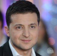 Зеленски полага клетва като президент на Украйна