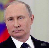 Путин не смята да поздравява Зеленски за встъпването му в длъжност като президент на Украйна