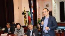 Андрей Ковачев в Перник: Още много инвестиции ще има в България (СНИМКИ)