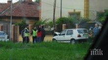 НЯМА ТАКАВА КАТАСТРОФА: Жена подкара Голф, паркира в селско кметство